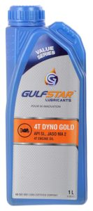 gulfstar bike engine oil