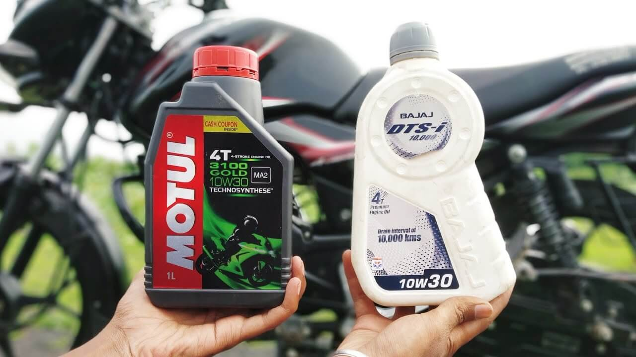 best engine oil for indian bikes