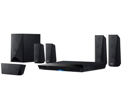 Buy Sony DAV-DZ350 Real 5.1ch Dolby Digital DVD Home Theatre System in India