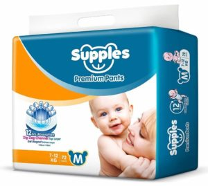 Supples Baby Pants Diapers in India
