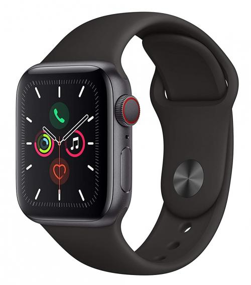 Buy Apple Watch Series 5 with Black Sport Band in India