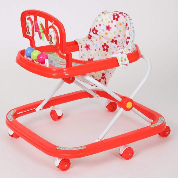 Buy Dash Classic Baby Walker with Rattles and Hanging Toys in India