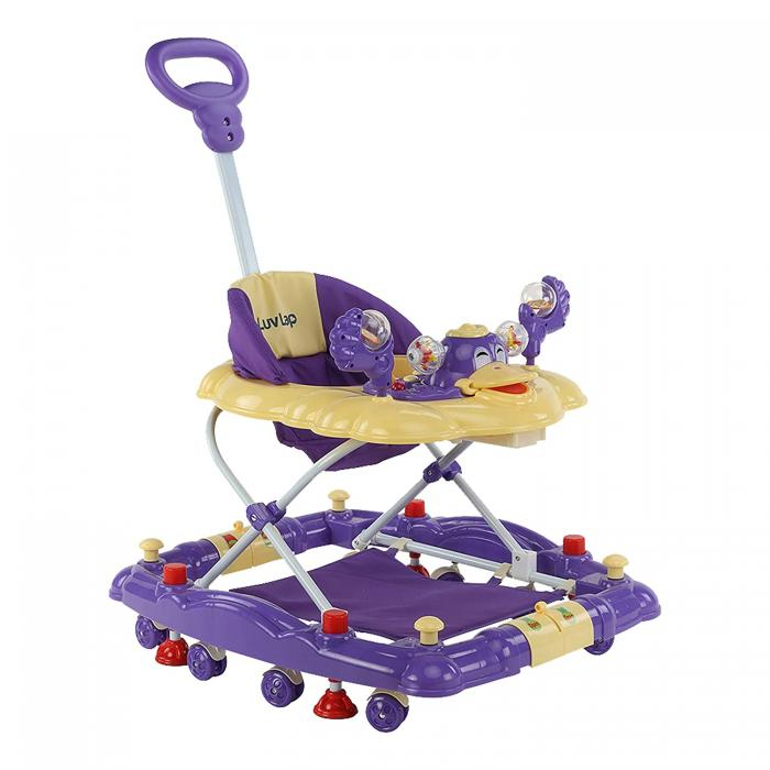 Buy LuvLap Comfy Baby Walker & Rocker with Light & Musical Toys in India