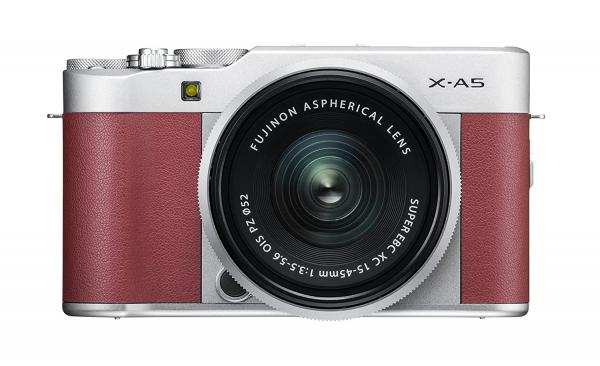 Shop Fujifilm X-A5 24 MP Mirrorless Camera with XC 15-45mm Lens in India
