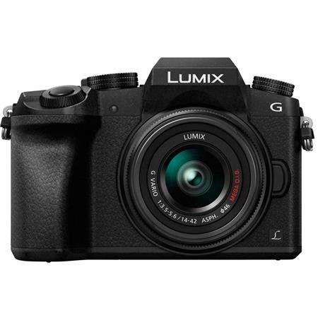 Shop Panasonic LUMIX G7 16.00 MP 4K Mirrorless Interchangeable Lens Camera Kit with 14-42 mm Lens in India Under 50,000 Rupees