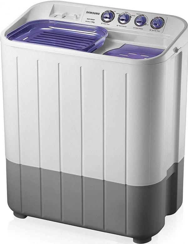 Samsung 7.2 kg Semi-Automatic Top Loading Washing Machine Under 10000 Rupees