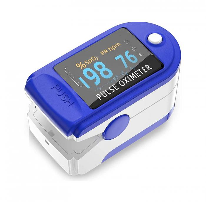 Wembley Fingertip Pulse Oximeter Digital for Heart Rate Monitors